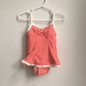 Janie and Jack vintage looking ruffle swimsuit